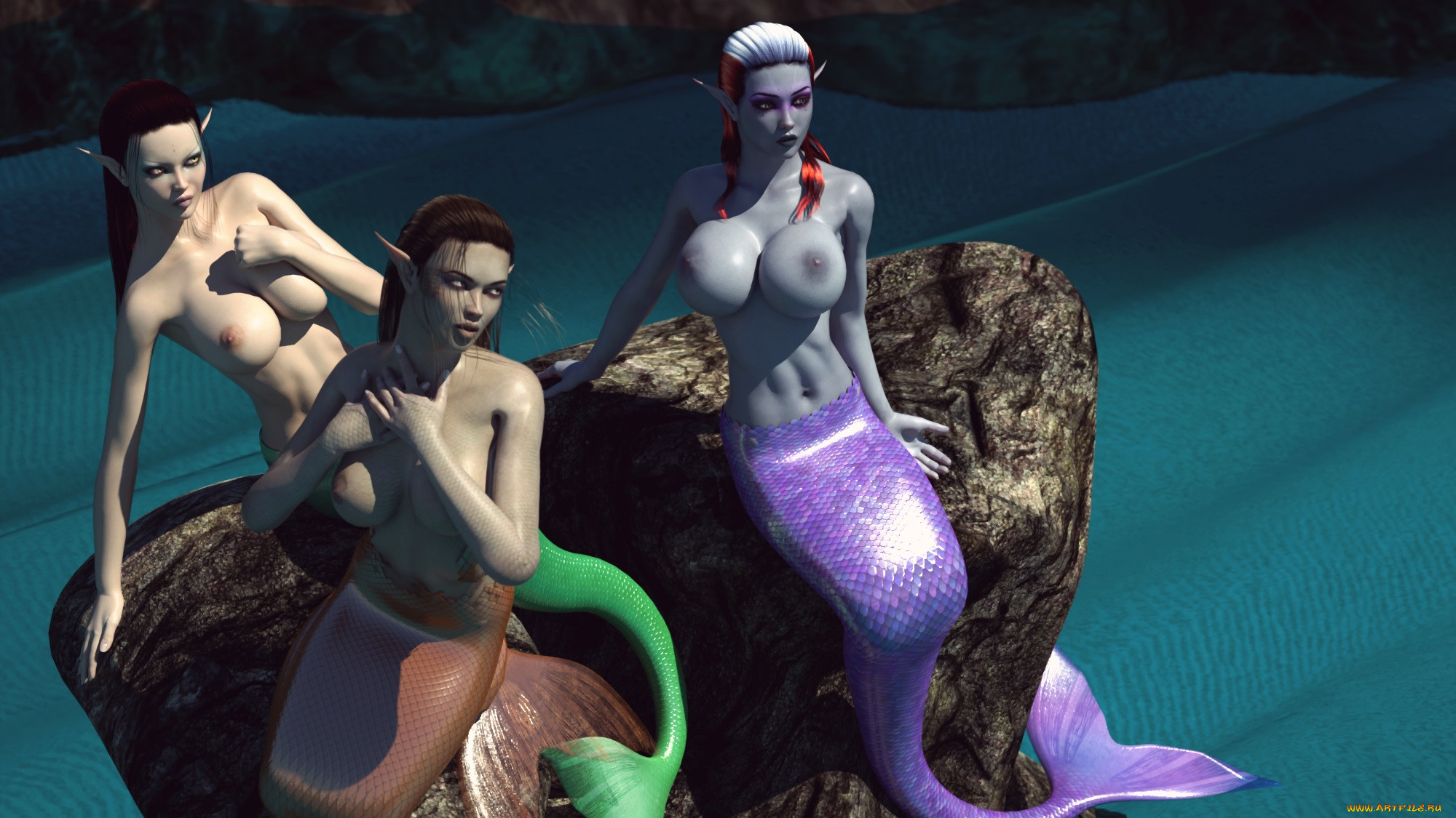 Mermaid fantasy sex hentia gallery